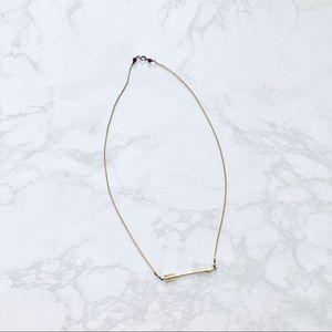 Anthropologie Arrow Necklace